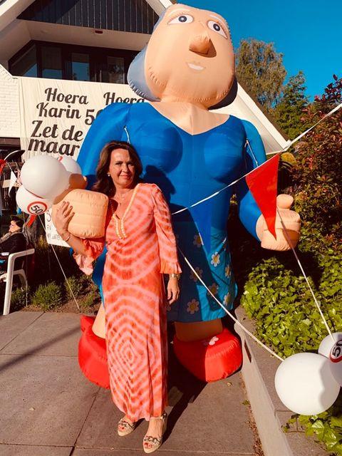 Karin 50 jaar Sarah uit Hengelo