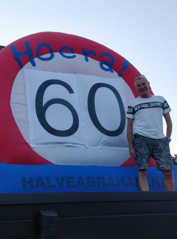 Feestverhuur Hengelo: Ronald uit Hengelo 60 jaar